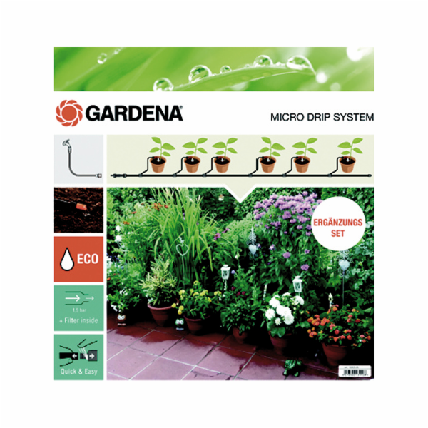 Gardena Micro-Drip-System extension set plant pot