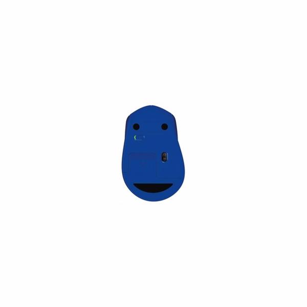 Logitech Wireless Mouse M330 Silent Plus, blue