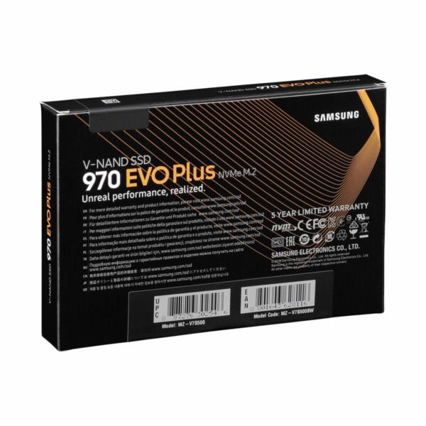 Samsung SSD 970 EVO PLUS 500GB M.2