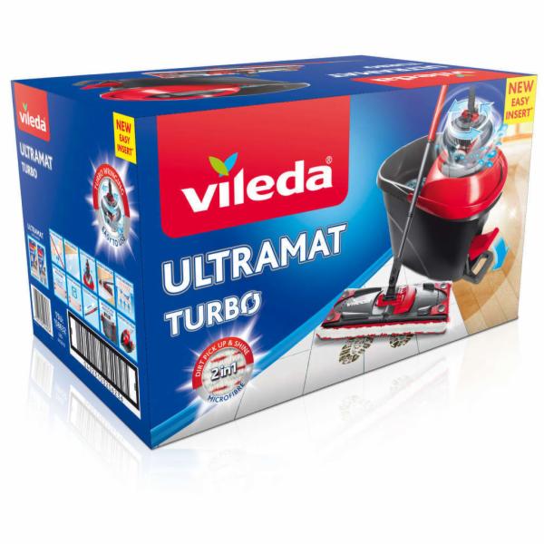 Vileda 158632 Ultramat Turbo mop + kbelík