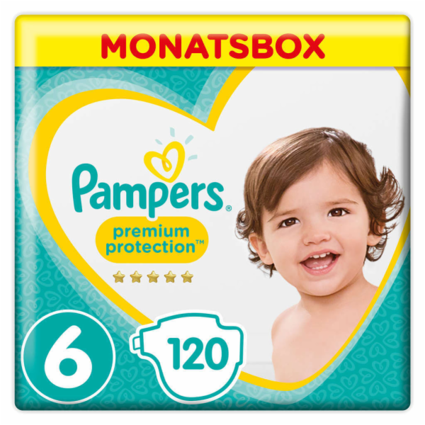 Pampers Premium Protection S6 (XL) 120 ks