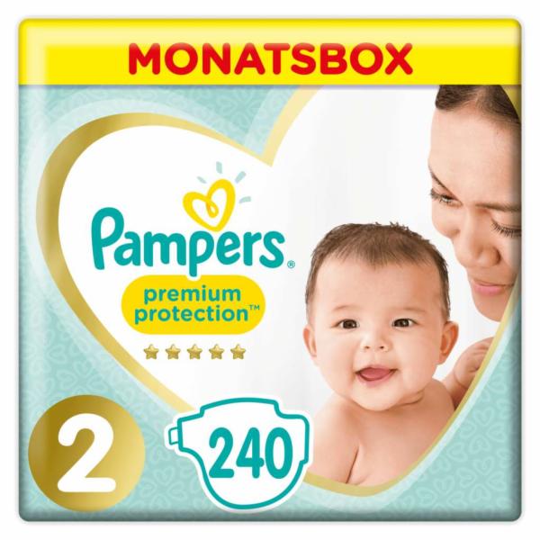 Pampers Premium Protection S2 4-8 kg 240 ks
