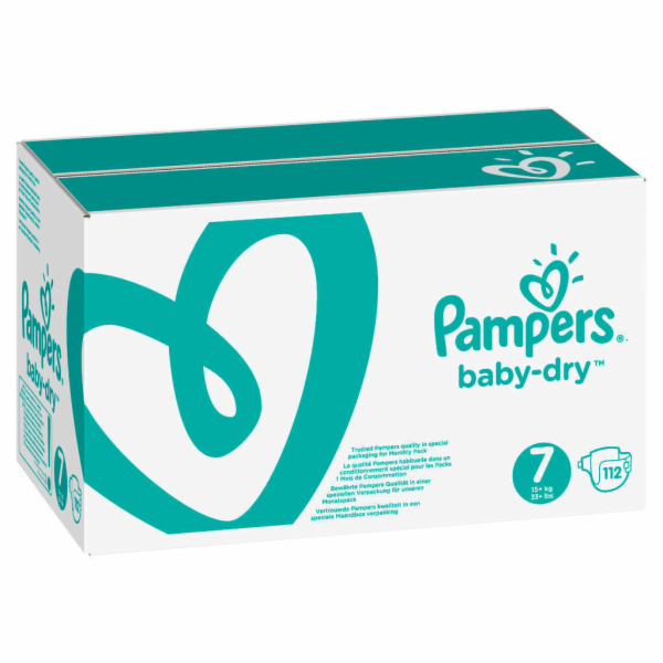 Pampers Baby Dry S7