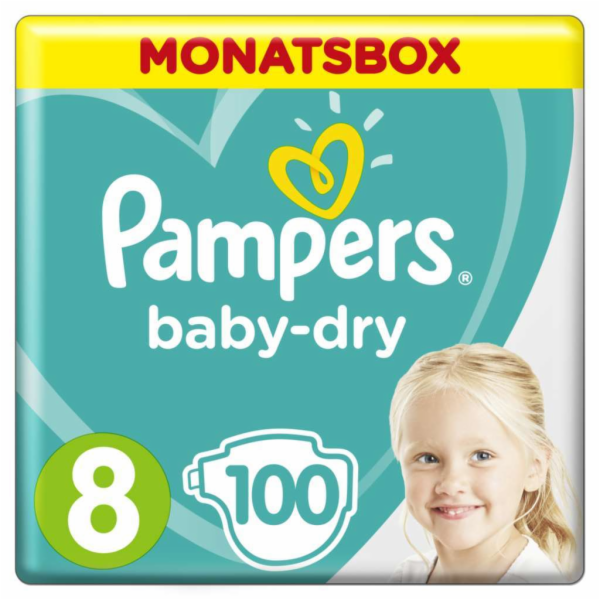 Pampers Baby Dry S8 100 ks
