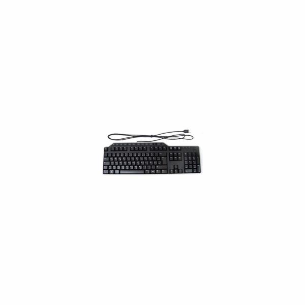Dell klávesnice, multimediální KB-522,USB,černá,CZ (580-16749)