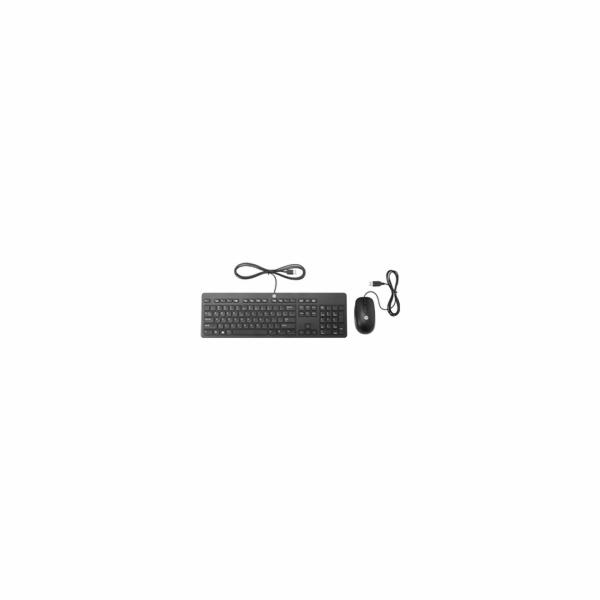HP Slim USB Keyboard and Mouse - Slovenská