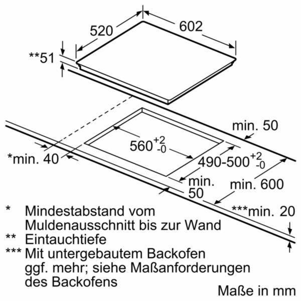 Siemens EH675FFC1E Induknčí varná deska, 60 cm