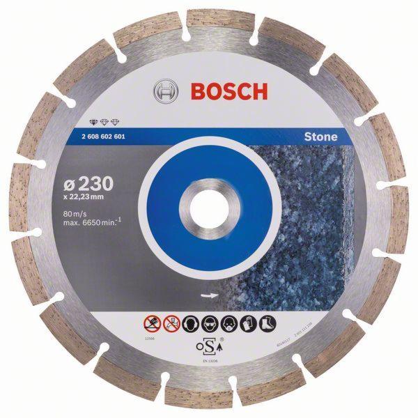 Bosch diamantový delící kotouc 230x22,23 Standard For Stone