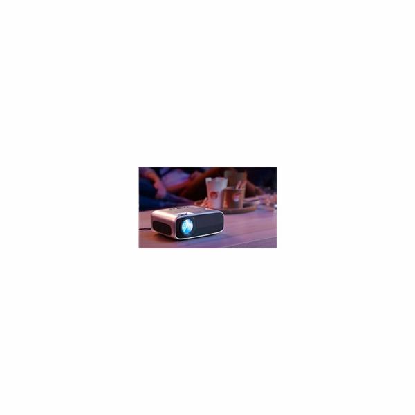 Philips LED mini projektor NeoPix PRIME NPX540, 3500 LED Lumenů, Full HD, Wi-Fi, BT, repro