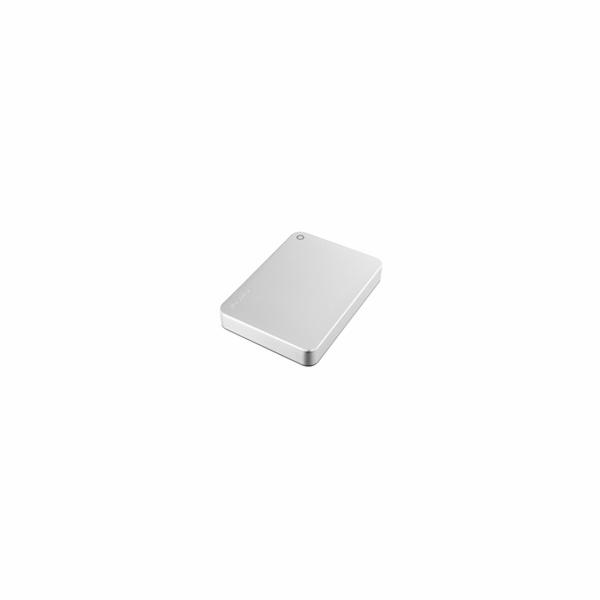"""TOSHIBA HDD CANVIO PREMIUM 4TB, 2,5"""", USB 3.0, metalická stříbrná"""