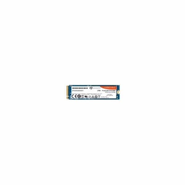 SEAGATE SSD NVMe 2TB FireCuda 510, M.2, PCIe G3 ×4, NVMe 1.3 (R:3450/W:3200 MB/s)