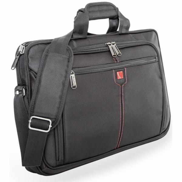 Verbatim Slim Notebook Case Londyn 43,2cm (17 ) cerna