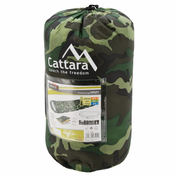 Spacák Cattara ARMY dekový 5°C