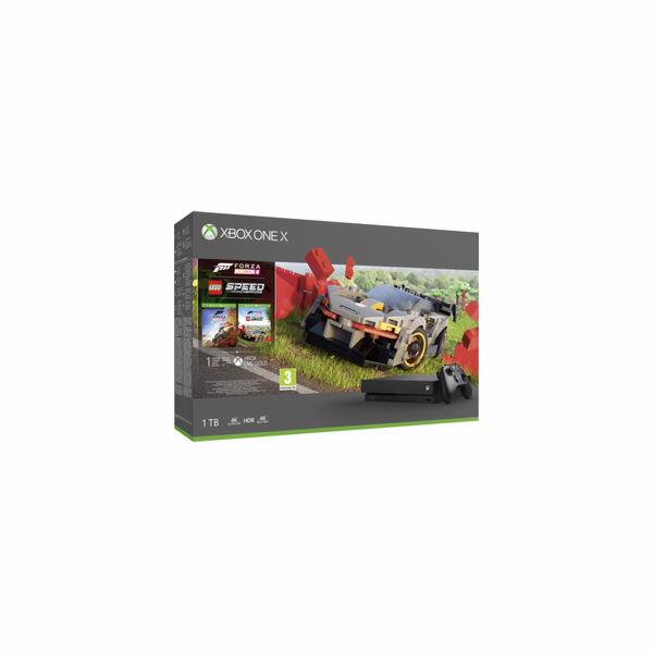 XBOX ONE X 1TB+Forza Horizon 4+Lego