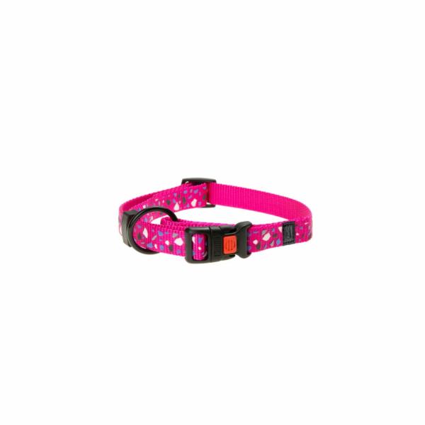 Karlie Obojek ASP Mix&Match růžový motiv CHIP velikost S 30-45cm 15mm