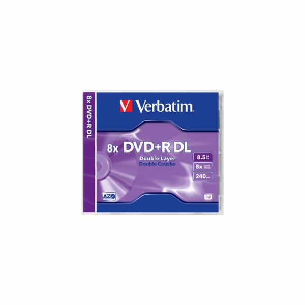 DVD+R DL 8,5GB 8x 1PK JC VERBATIM