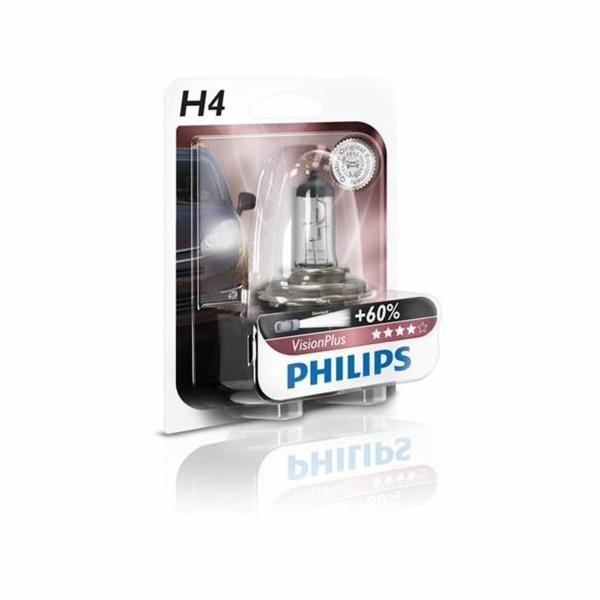 PHILIPS H4 VisionPlus 1 ks