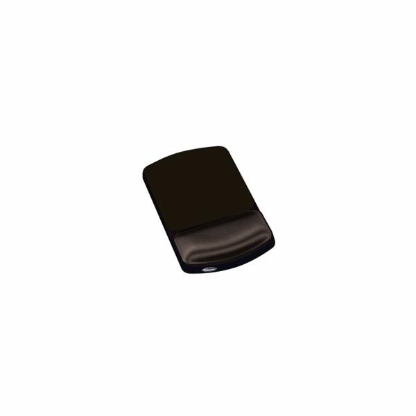 Podložka Fellowes pod myš a zápěstí gelová, nastavitelná 2 pozice, černá