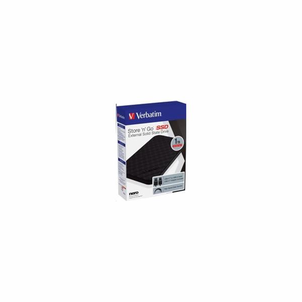Verbatim Store n Go 1TB Portable SSD USB 3.2