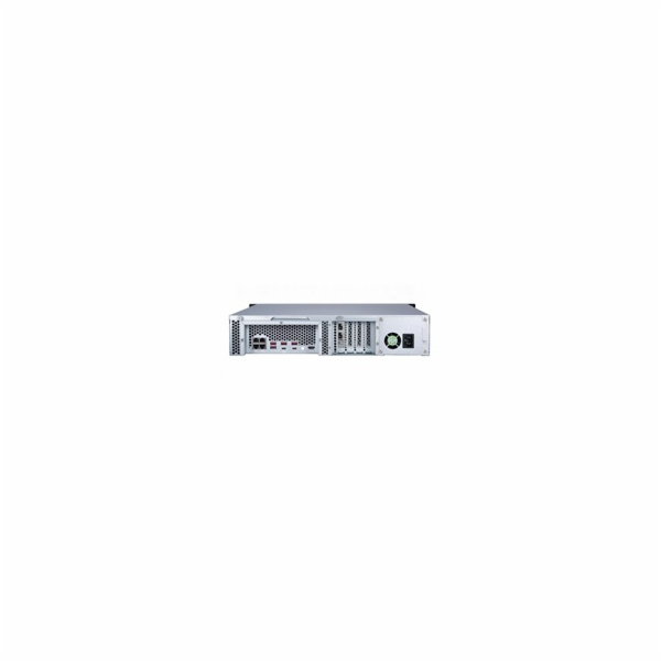 QNAP TVS-872XU-i3-4G, 2U, 8-bay NAS, Intel i3-8100 QC 3.6 GHz, 4GB, 4 GigaLan, 2 x 10GbE SFP+ SmartNIC