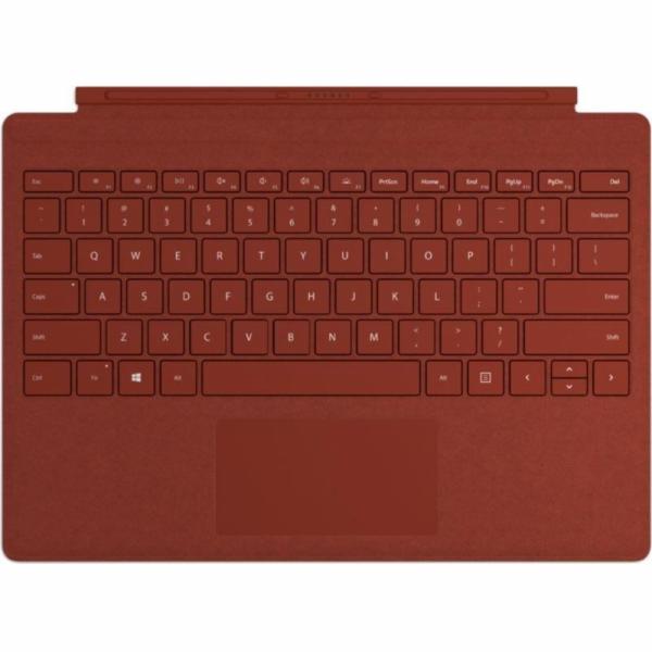 Microsoft Surface Pro Signature Type Cover mohn červená