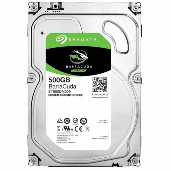 "3.5"" HDD Seagate BARRACUDA pro kamerové systémy - 500GB"