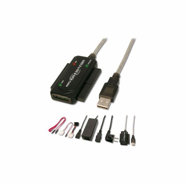 GEMBIRD Kabel redukce USB-IDE/SATA 2,5´´/3,5´´