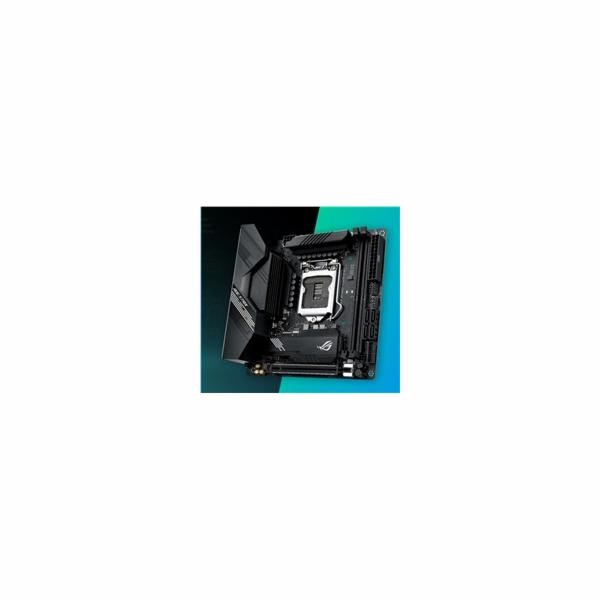 ASUS MB Sc LGA1200 ROG STRIX B460-I GAMING, Intel B460, 2xDDR4, VGA, WI-FI, mini-ITX