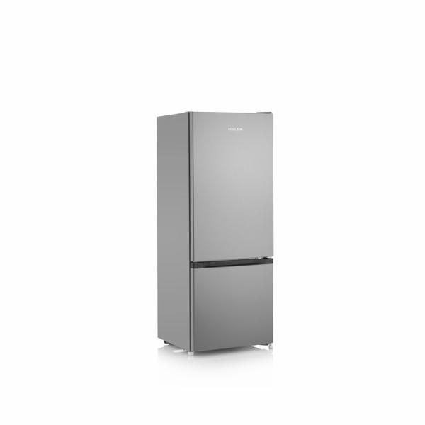 Kombinovaná lednice Severin, KGK 8973, kombinovaná, 206 l, stříbrný, 39 dB, 173 kWh/rok, N-ST