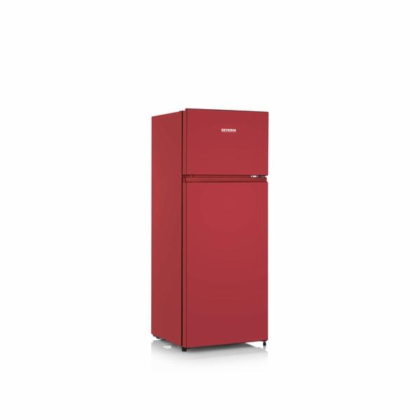 DT 8763 Kombin. lednice, 205 l, červená