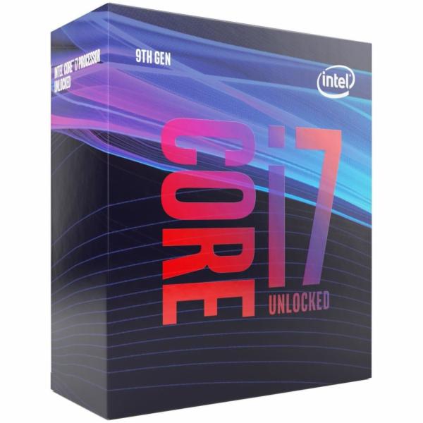 CPU INTEL Core i7-9700KF 3,6GHz 12MB L3 LGA1151, BOX (bez chladiče a bez VGA)
