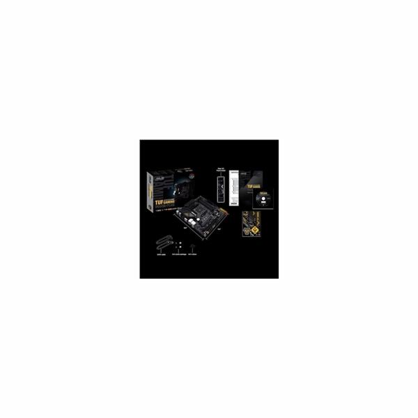 ASUS MB Sc AM4 TUF GAMING B550M-PLUS, AMD B550, 4xDDR4, 1xDP, 1xHDMI, mATX