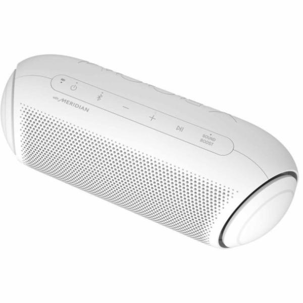 LG PL7W Bluetooth přenosný reproduktor bílý
