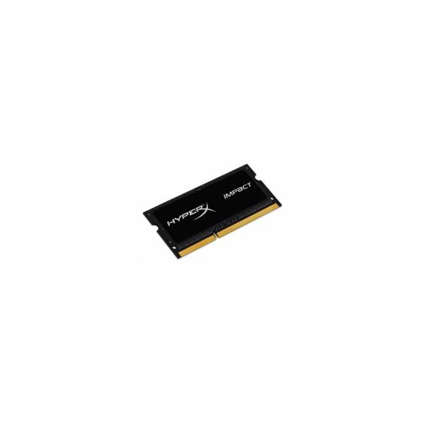 SODIMM DDR3L 4GB 1600MHz CL9, 1.35V, KINGSTON HyperX Impact