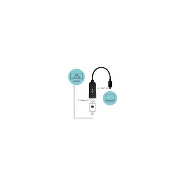iTec USB-C Display Port Adapter 4K/60 Hz