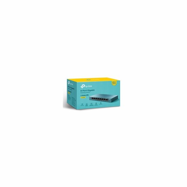 TP-Link LS108G [8-Portový stolní switch 10/100/1000Mb/s]