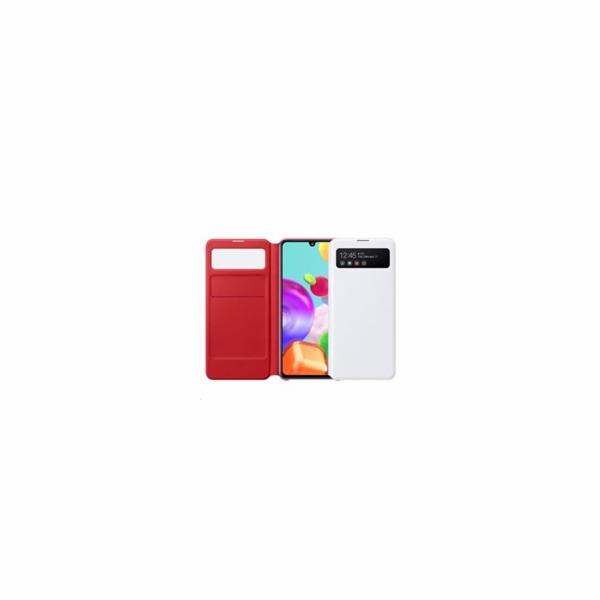 Pouzdro Samsung Flipový S View pro Galaxy A41 White