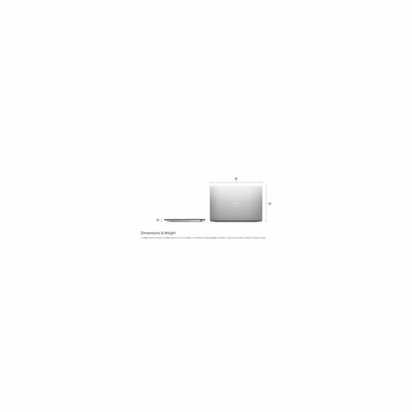 """DELL Ultrabook XPS 13 (9300)/i5-1035G1/8GB/512GB SSD/Intel UHD/13.4"""" FHD+/Win 10 PRO/Silver+Black"""