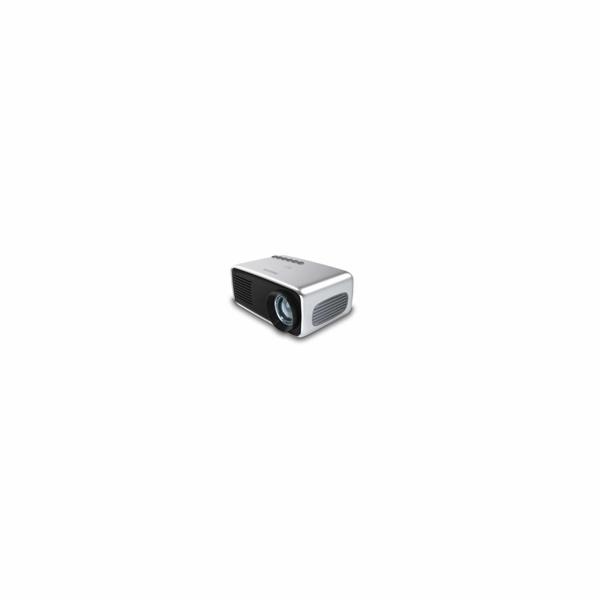 Philips LED mini projektor NeoPix START+ NPX245, 650 LED Lumenů, repro, baterie - Bazar - použito na