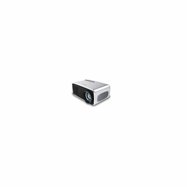 Philips LED mini projektor NeoPix START NPX240, 650 LED Lumenů, repro - Bazar - použito na výstavě,