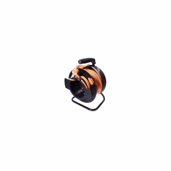 Kabel PremiumCord Prodlužovací 230V 50m na bubnu