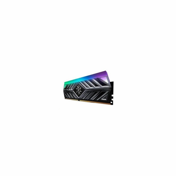 DIMM DDR4 8GB 3200MHz CL16 ADATA SPECTRIX D41 RGB, -ST41 memory, Single Color Box