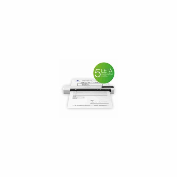 EPSON skener WorkForce DS-80W, A4, 600x600dpi,USB, mobilní