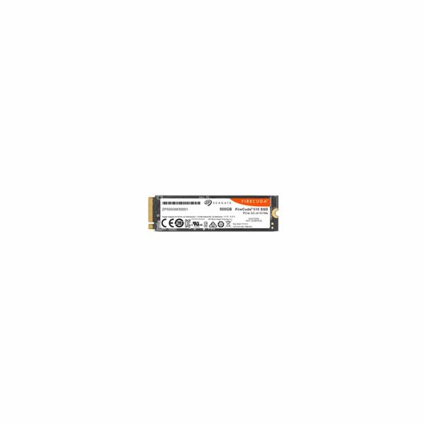 Seagate SSD FireCuda 510 (M.2 2280/500 GB/ PCIe Gen3 x4, NVMe) Single pack