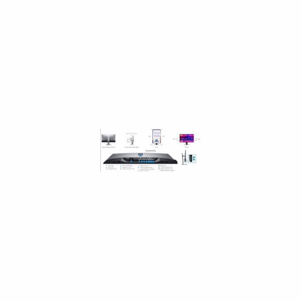 "Dell U2721DE 27"" UltraSharp QHD IPS 16:9 8ms/ 350cd/ 1000:1/ USB-C Hub Monitor/ HDMI/ DP/ 3RNBD"