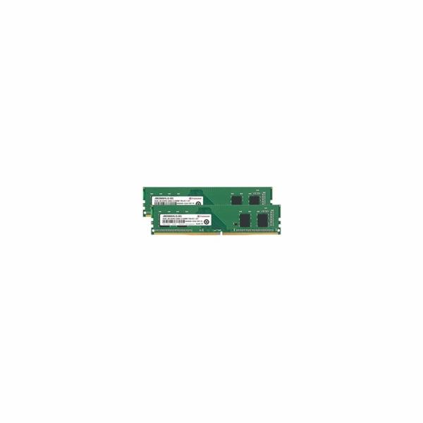 DIMM DDR4 16GB KIT (2x8GB) 2666MHz TRANSCEND 1Rx16 1Gx16 CL19 1.2V