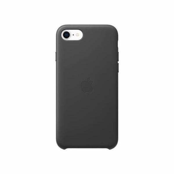 Apple iPhone SE Leather obal cerna