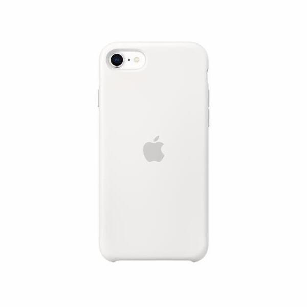 Apple iPhone SE silikon. obal bila