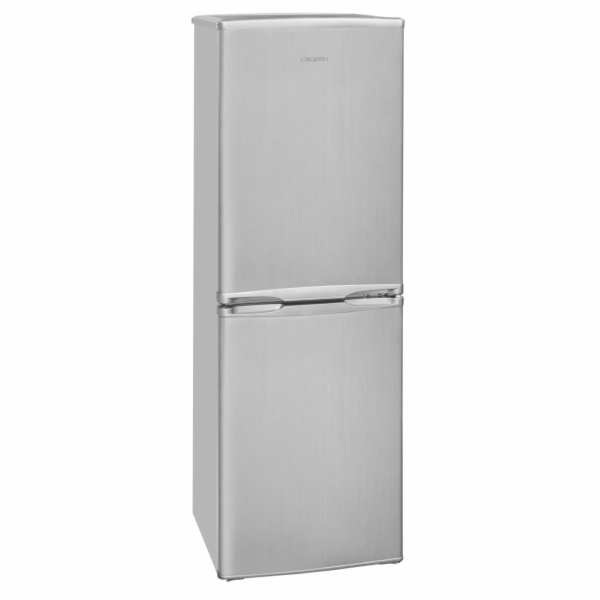 Exquisit KGC 145/50-4.2 A+ si kombinovaná chladnička stříbrná