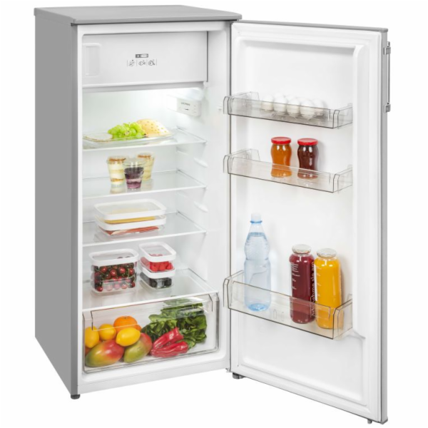 Exquisit KS 185-4.1 EA++Inox kombinovaná chladnička